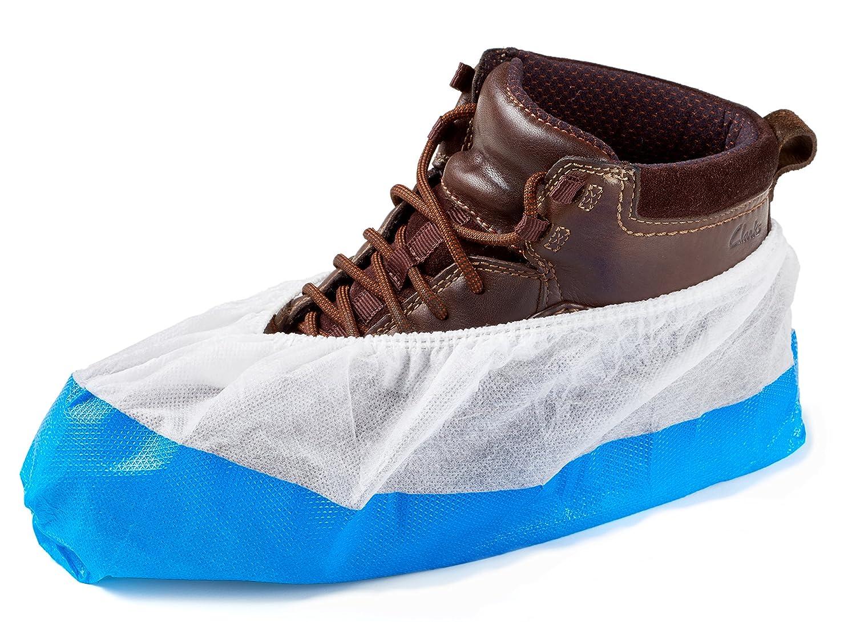 5 Stück Wiederverwendbar Schmutzschutz Überschuh Schuhüberzieher Hause Labor