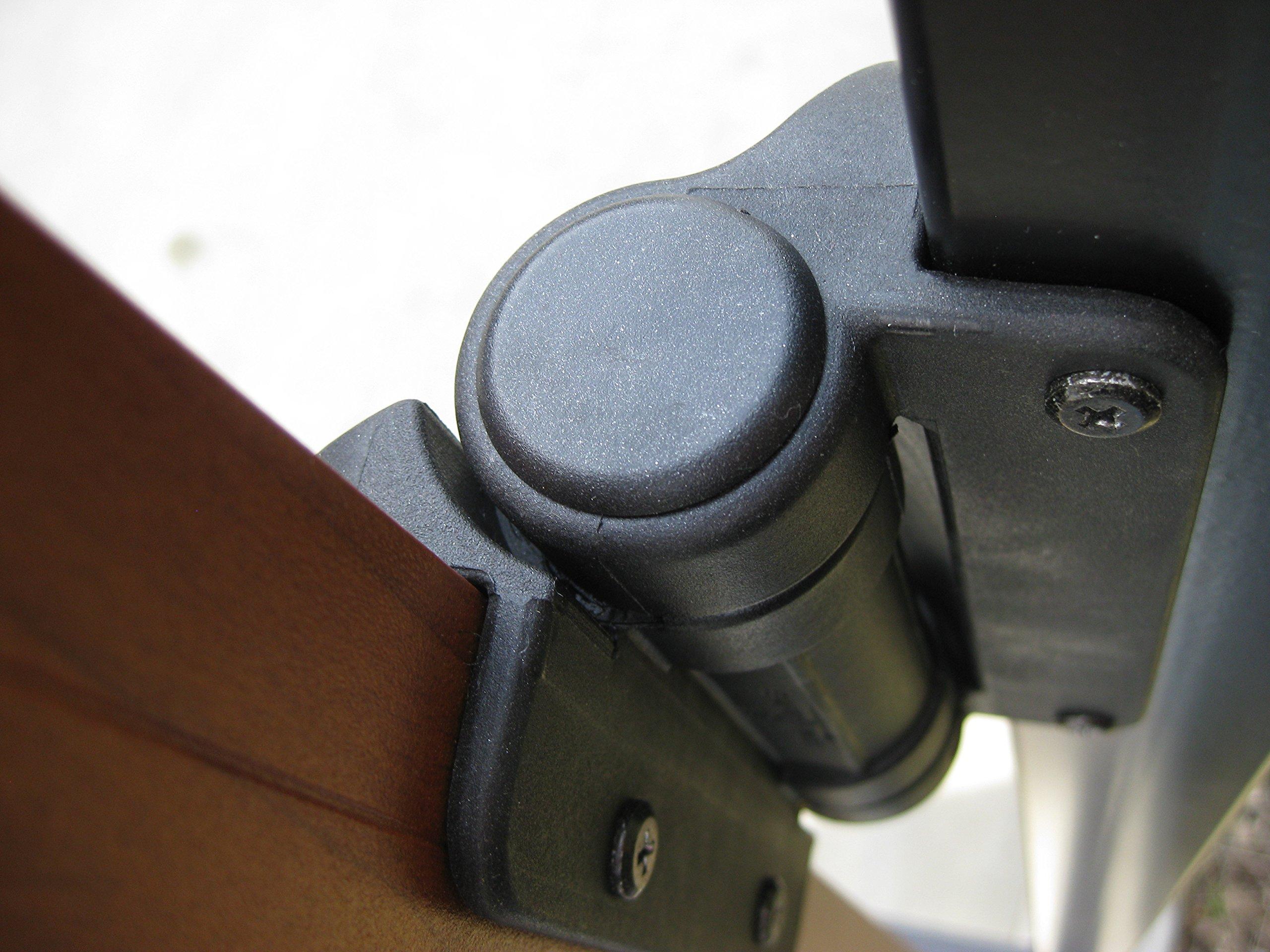 Safetech MegaKlik Self Closing Gate Hinge W/ Legs (SHH-135LS)