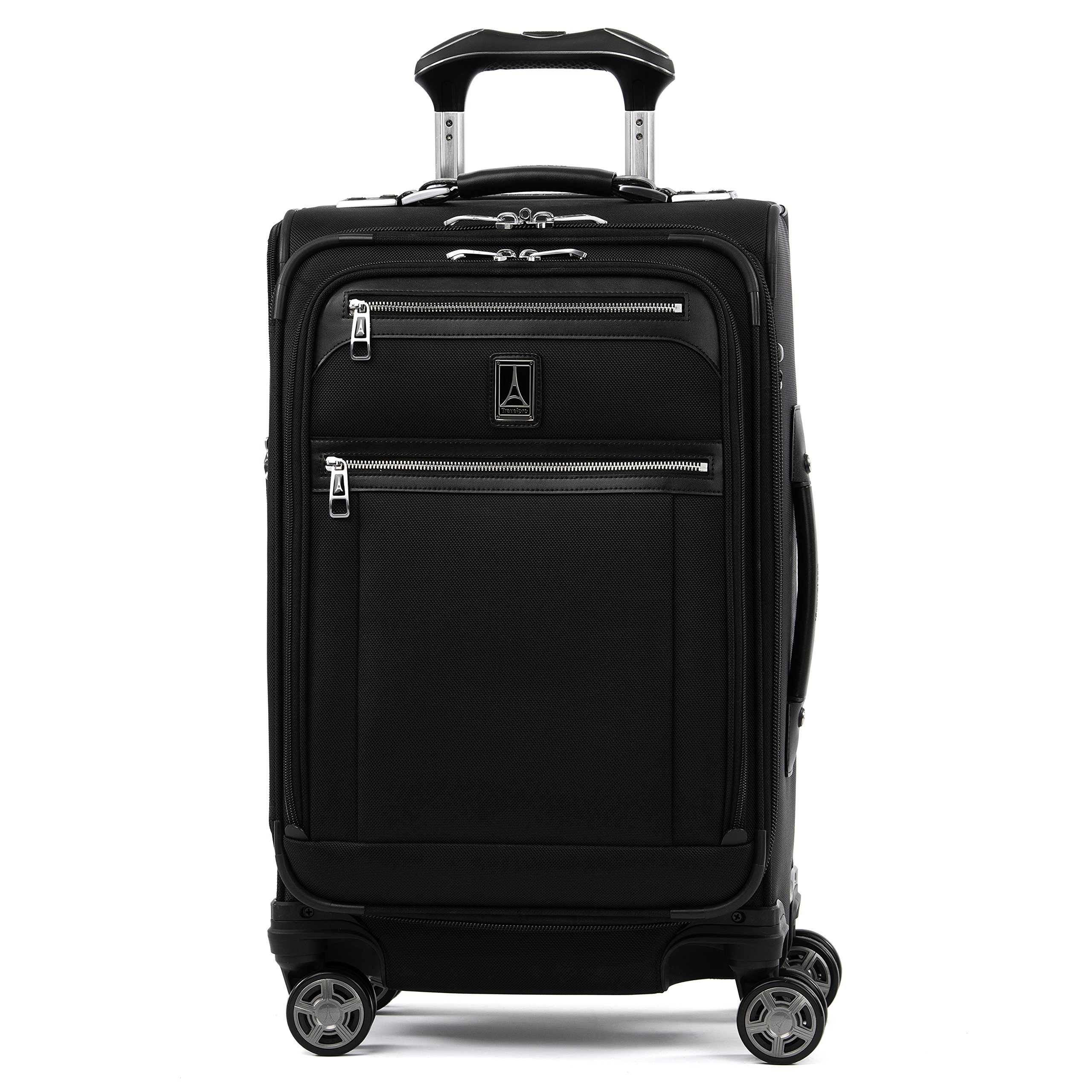 Travelpro Luggage Platinum Elite 21'' Expandable Carry-On Spinner, Shadow Black