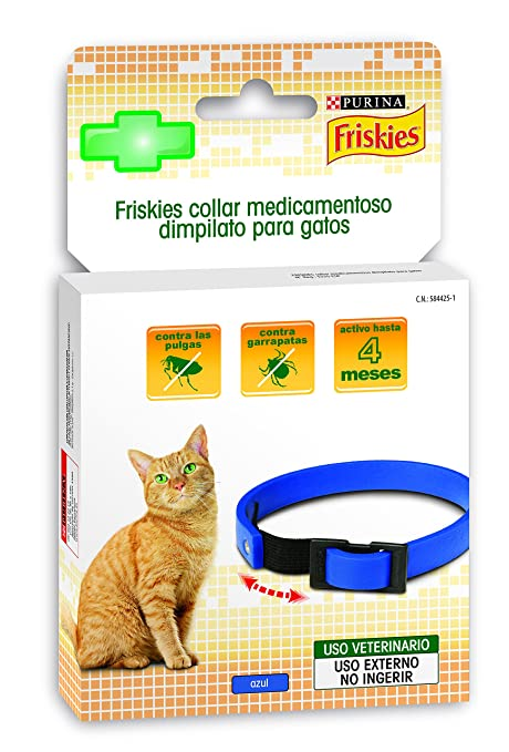 Purina - Friskies 12259710 Collar Dimpilato para Gatos
