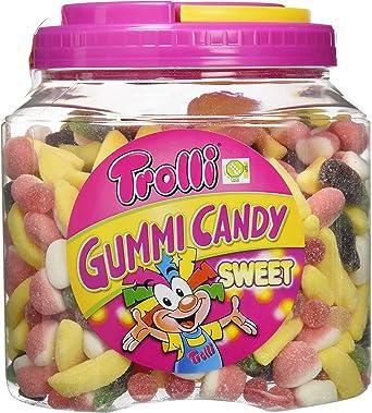 Trolli Gummy Candy Mix Sweet - 2000 gr - [pack de 2]: Amazon.es: Alimentación y bebidas