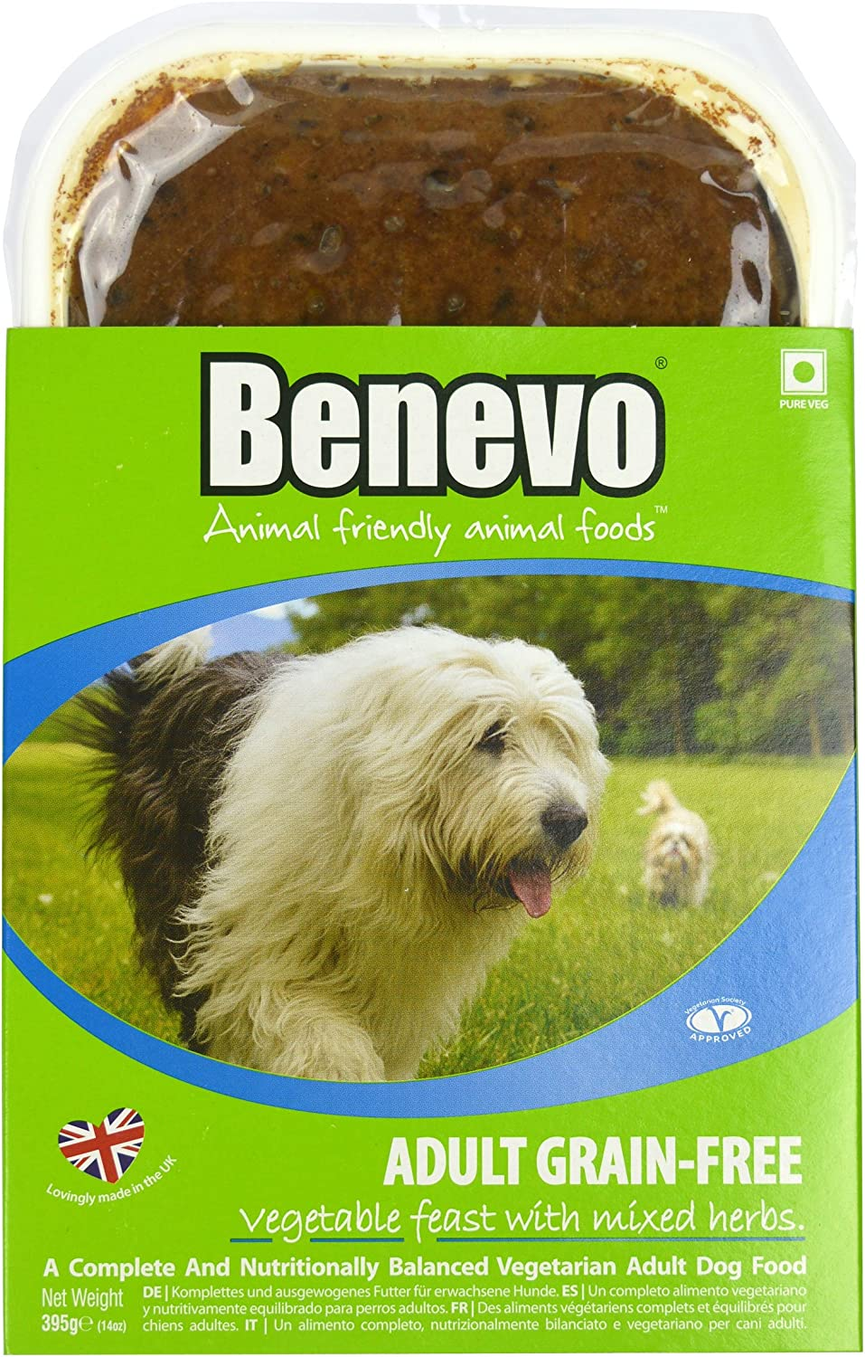 Benevo Adult Grain Free Vegan Wet Dog Food 395 g (Pack of 10)