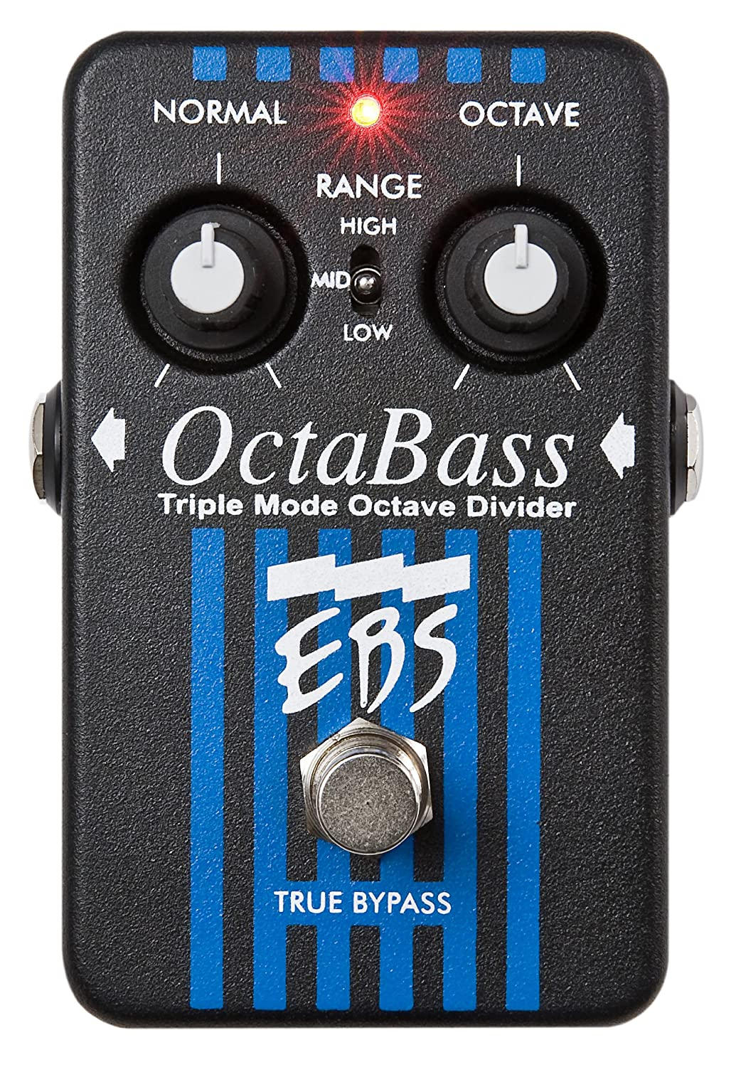 EBS OctaBass SE Triple Mode Octave Pedal For Bass And Keyboard