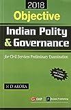 Objective Indian Polity & Governance Civil Services Preliminary Examination 2018