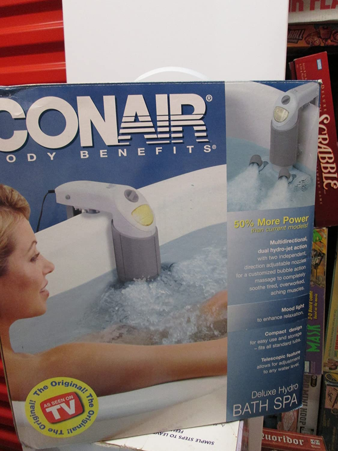 Amazon.com: Conair Body Benefits Deluxe Hydro Bath Spa: Health ...