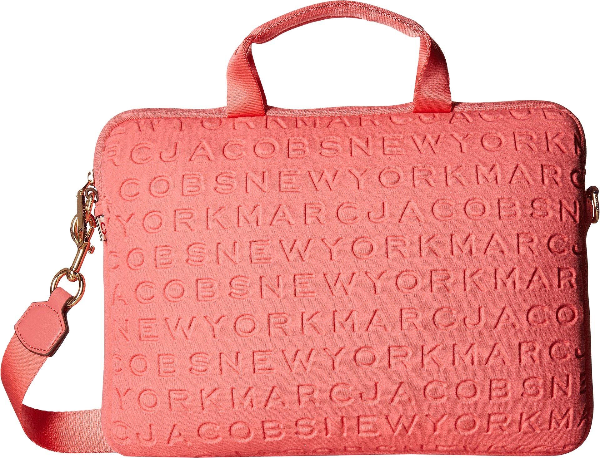 Marc Jacobs Women's 13'' Commuter Case Coral One Size