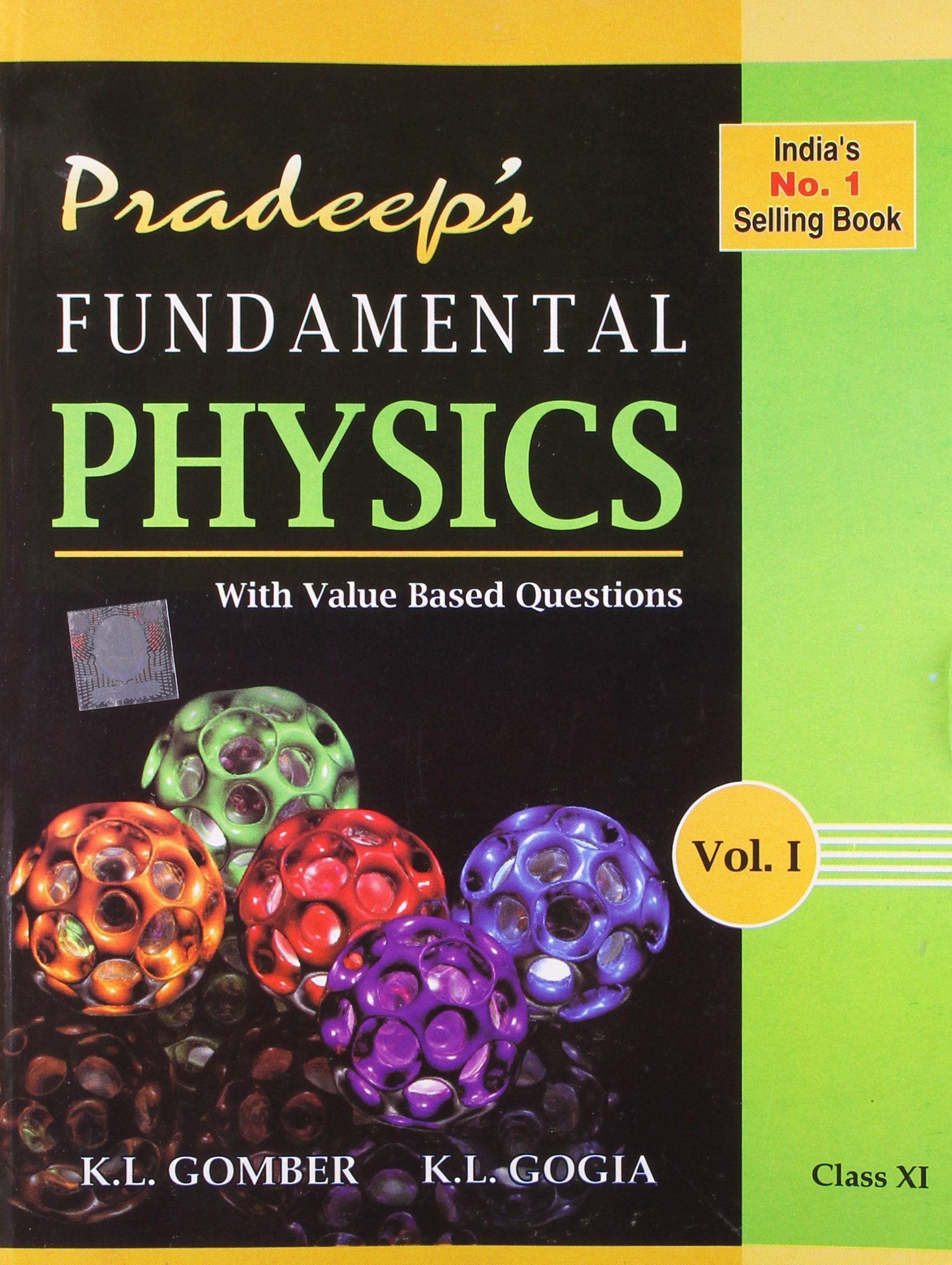 Buy pradeep s a text book of physics with value based questions class xi set of 2 volumes book online at low prices in india pradeep s a text book of