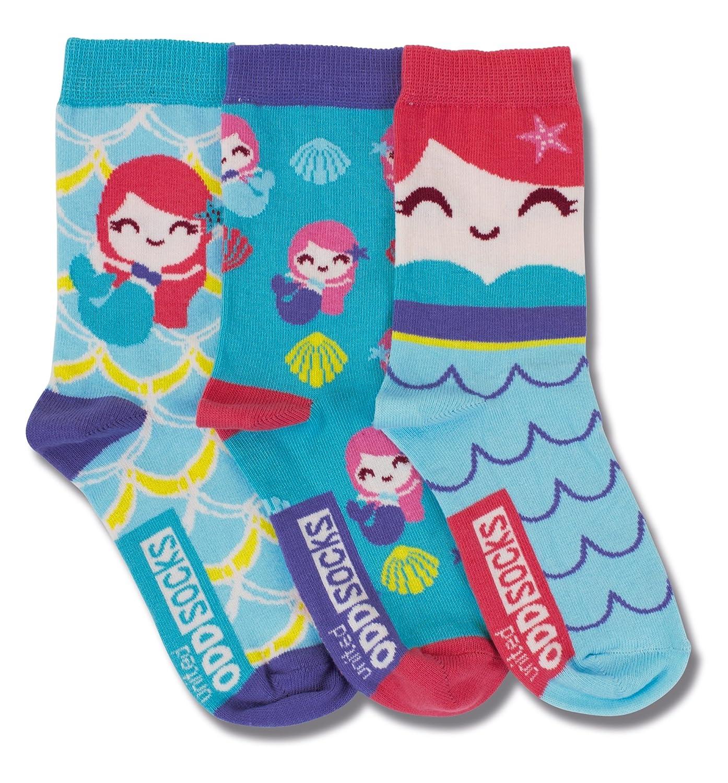 United Oddsocks - Shells - Mädchen Socken - Mermaid - Meerjungfrau - Gr.: 31-38