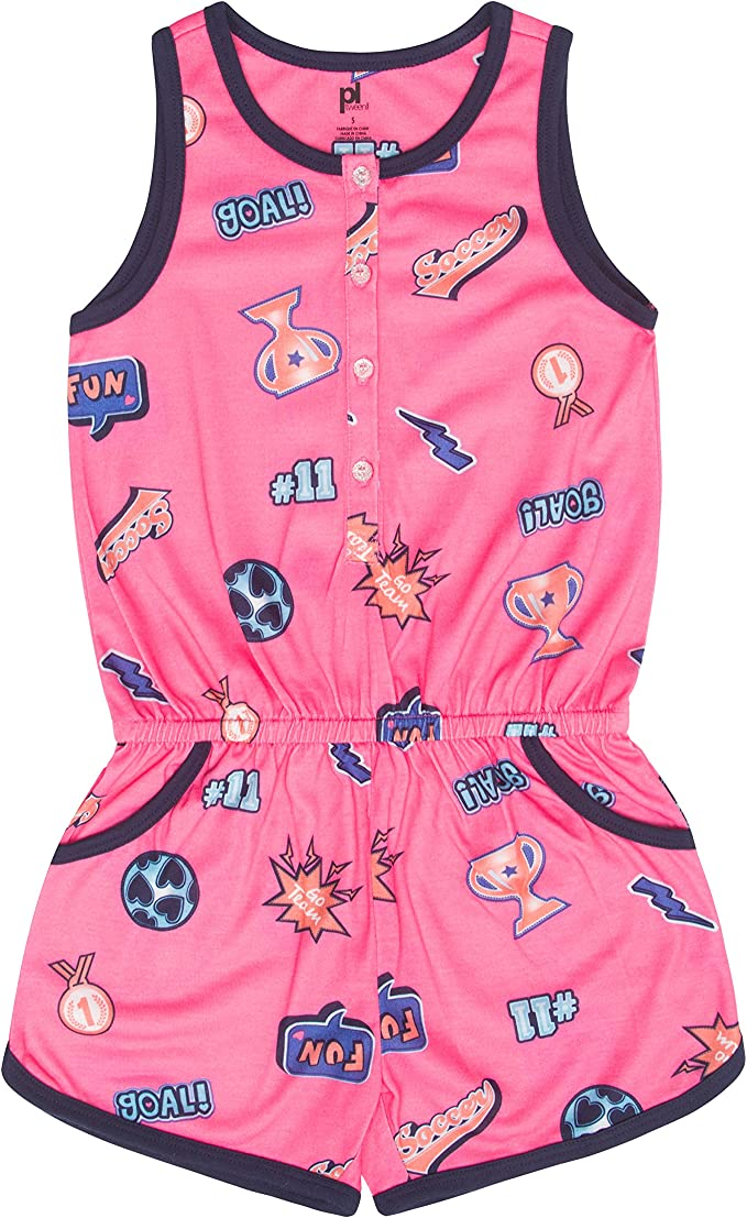 Stylish Petit Lem Girls Big Romper Cute and Fun Comfortable