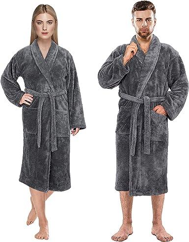 American Soft Linen Luxury Hotel & SPA Warm Soft Plush Fleece Robe