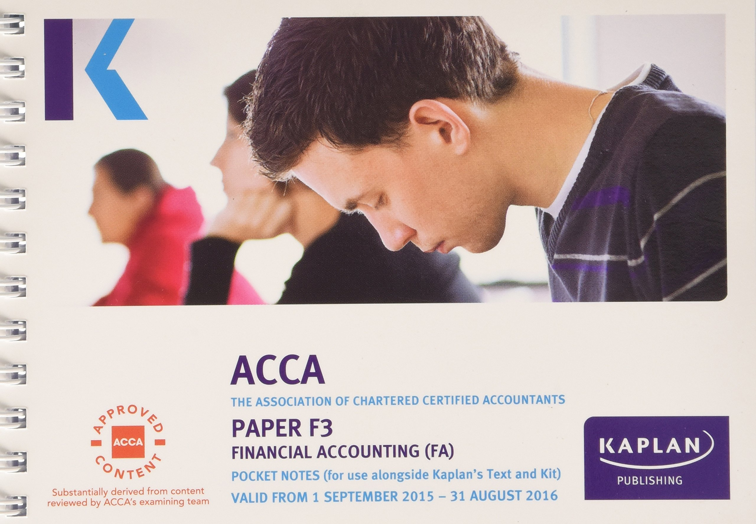 F3 Financial Accounting - Pocket Notes (Acca Pocket Notes