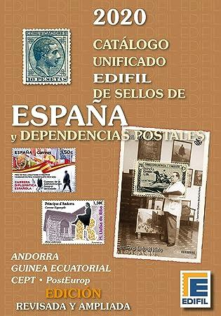 Catálogo de Sellos de España y Dependencias Postales 2020: Amazon.es: Juguetes y juegos