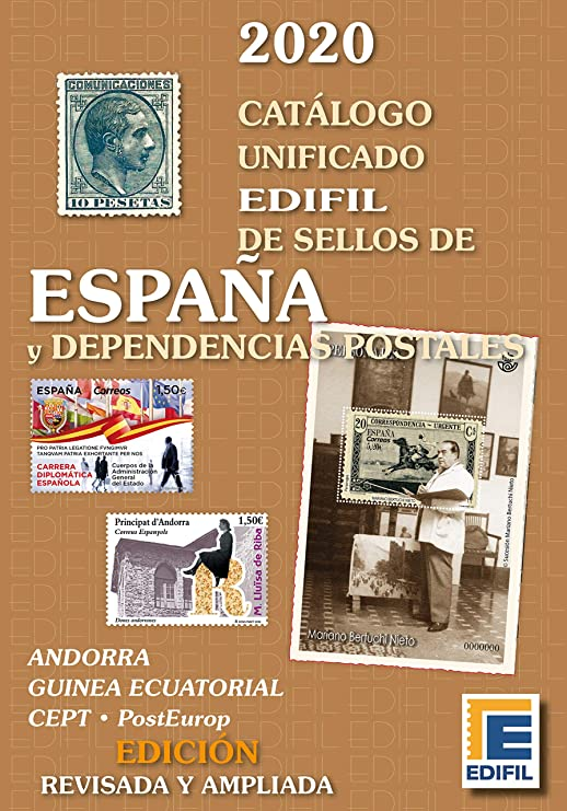 Catálogo de Sellos de España y Dependencias Postales 2020: Amazon ...