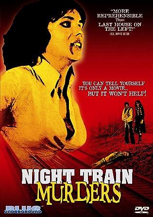 Amazon NIGHT TRAIN MURDERS DVD Flavio Bucci Macha Meril