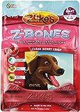 Zuke's Z-Bones Dog Dental Chews, Clean Cherry Crisp, Giant, 4 Chews