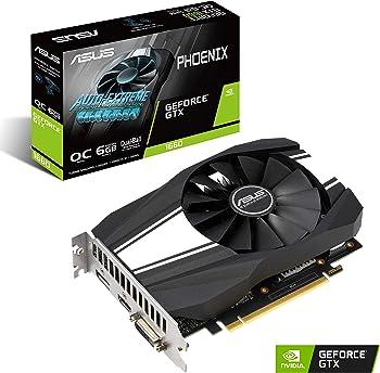 ASUS GeForce GTX 1660 Overclocked 6GB Graphics Card