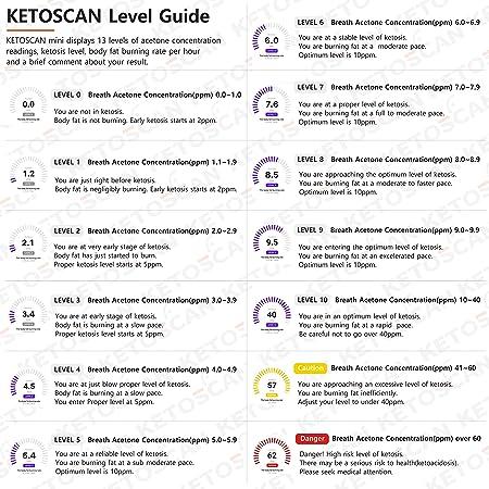 Amazon.com: KETOSCAN Mini analizador de acetona de aliento ...