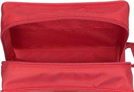 Buchhüllen-Tasche Buchhülle mit integrierter Buchstütze und Trag LexSkin rot
