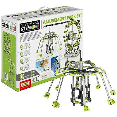 Engino Amusement Park Set- London Eye & Ferris Whl Construction Set: Toys & Games