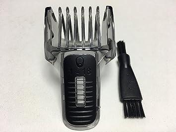 Cortador de Pelo Peine Pequeño HAIR CLIPPER COMB Shaver Para PHILIPS QG3370  QG3371 QG3374 QG3379 QG3380 QG3383 QG3387 QG3388 QG3392 1-18MM Barba Beard  ... 7fec765f9b4e
