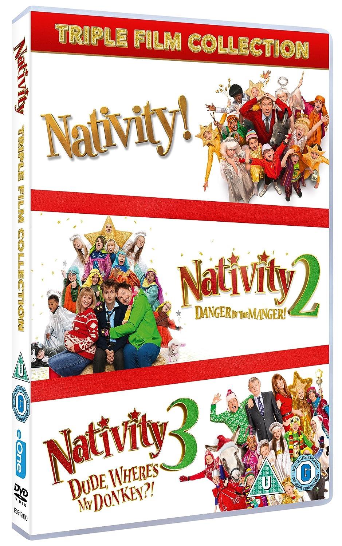f775c2e77 Nativity Triple Film Collection  DVD   2015   Amazon.co.uk  Martin Clunes