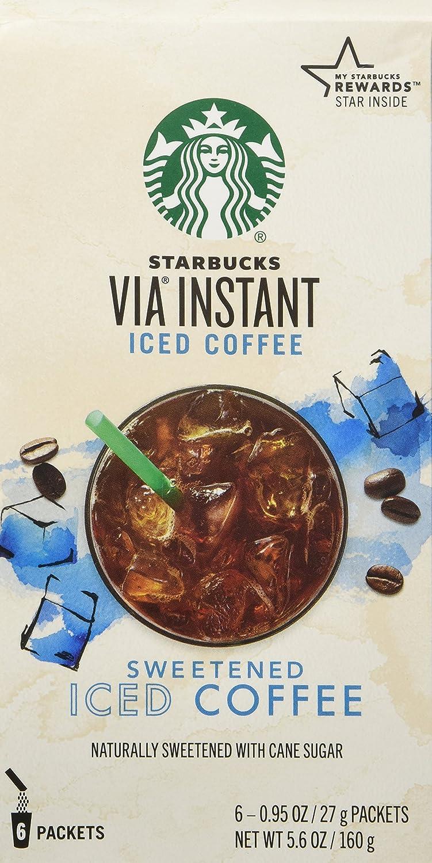 Starbucks Via Iced Coffee By Starbucks Coffee