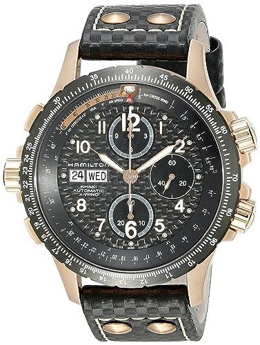 Hamilton Khaki Aviation X-Wind Auto Chrono - Reloj (Reloj de Pulsera, Masculino