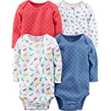 Carter's Baby Girls' Long Sleeve 4-Pk. Floral...