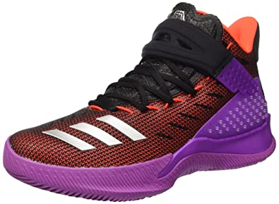 innovative design 602d2 9c320 adidas Ball 365, Chaussures de Basketball Homme, Multicolore  (ShopurSilvmtCblack