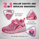 SDSPEED Kids Roller Skate Shoes with Single Wheel