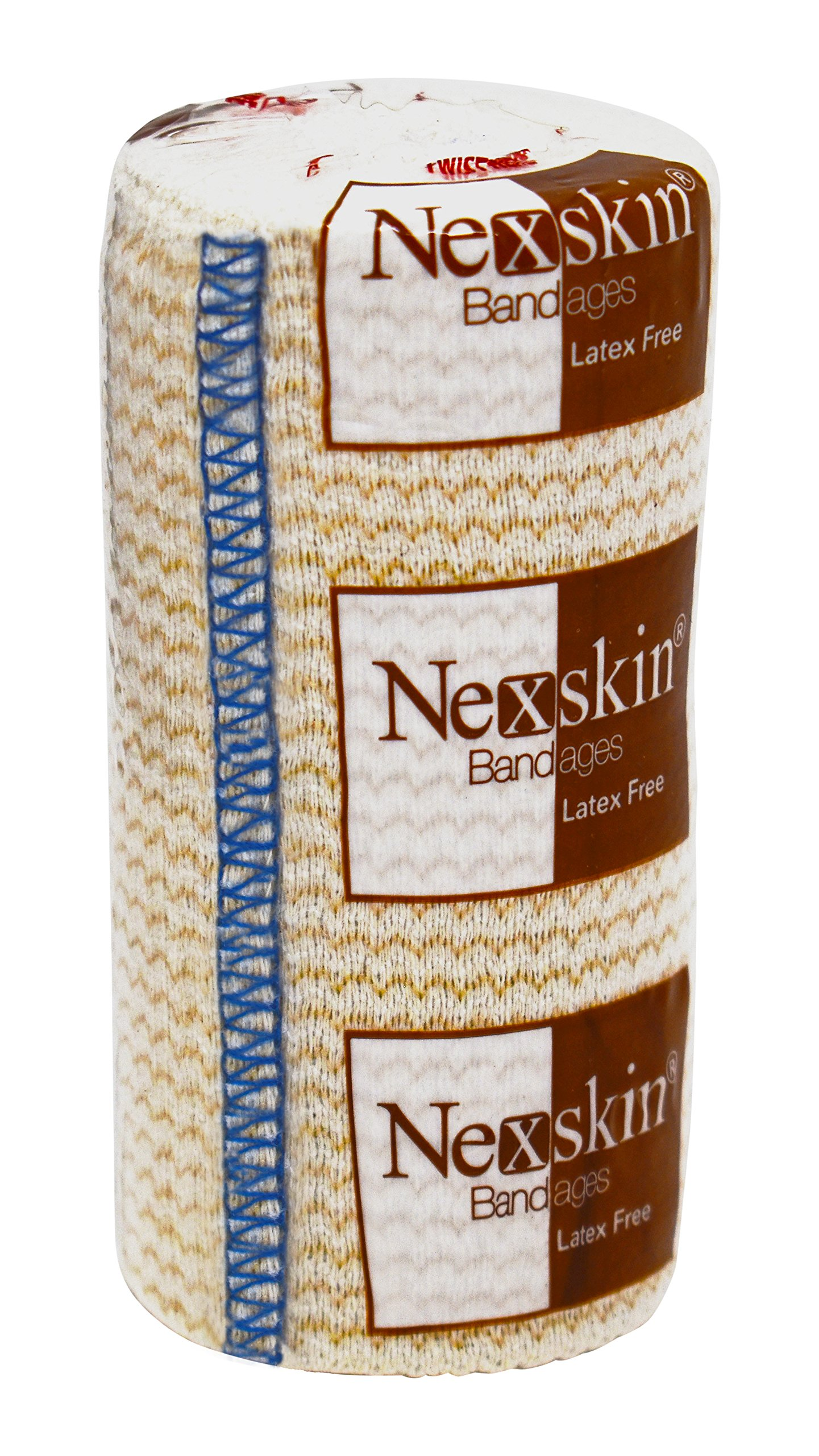 Nexskin Forever American Cotton Elastic Bandage Wrap with Hook and Loop Closure, 4'' Width (1 Pack)