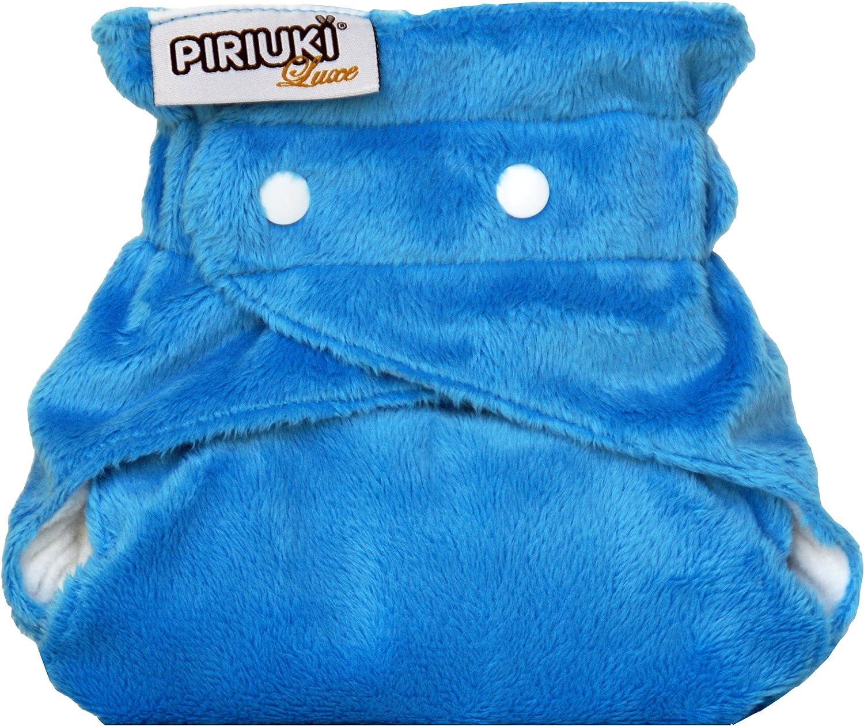 azul Azul 3,6 a 16 kg Piriuki Cubierta para panales reutilizables el tamano Caribe