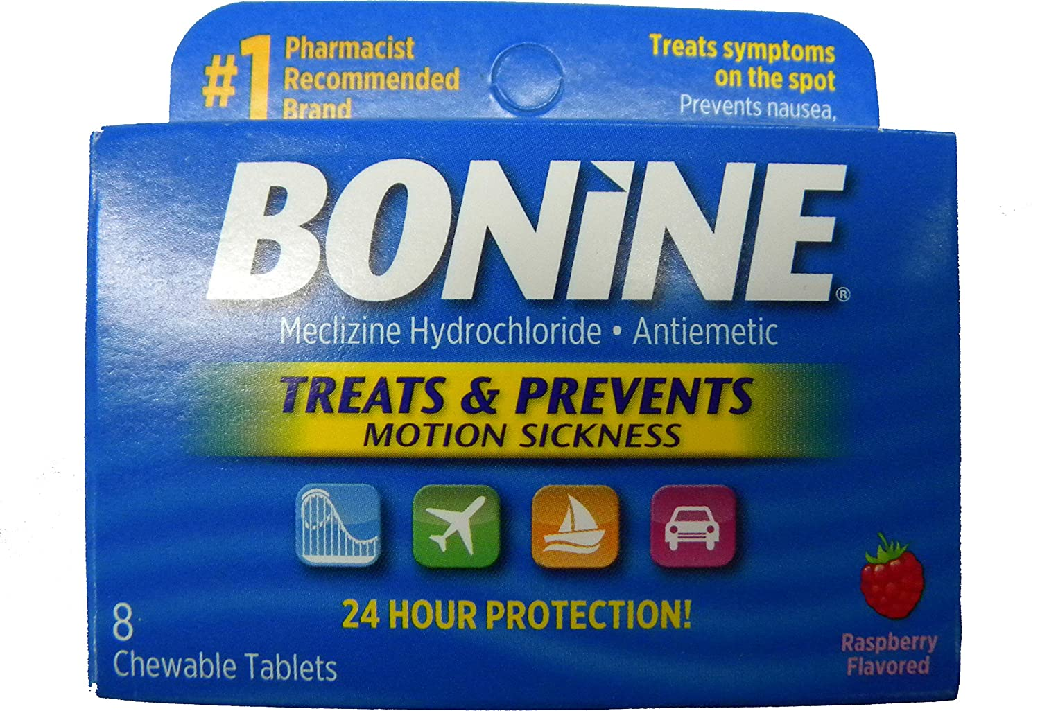 Bonine Chewable Motion Sickness Prevention for Scuba Diving or Snorkeling Trident Diving Accessories