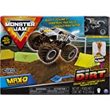 Monster Jam Max D Monster Dirt Deluxe Set,...