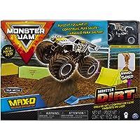 Monster Jam Max D Monster Dirt Deluxe Set, Featuring 16 Ounces of Monster Dirt & Monster Jam Truck