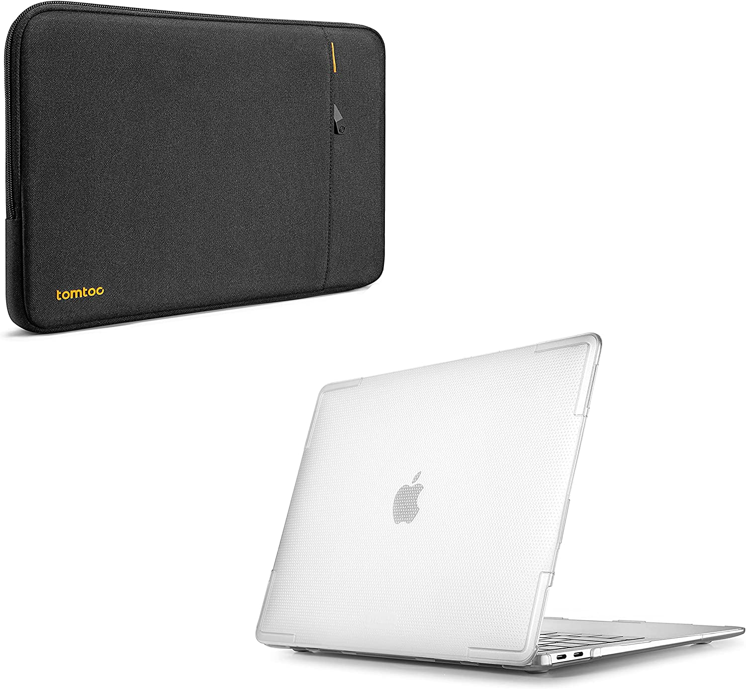 tomtoc 360 Protective Laptop Sleeve for 13 Inch Dell XPS with Slim Hardshell Case Compatible with 13-inch MacBook Air M1/A2337 A2179 A1932 2018-2021
