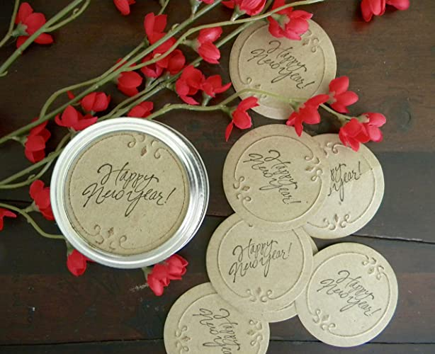 mason jar labels mason jar stickers canning jar tags happy new year stickers