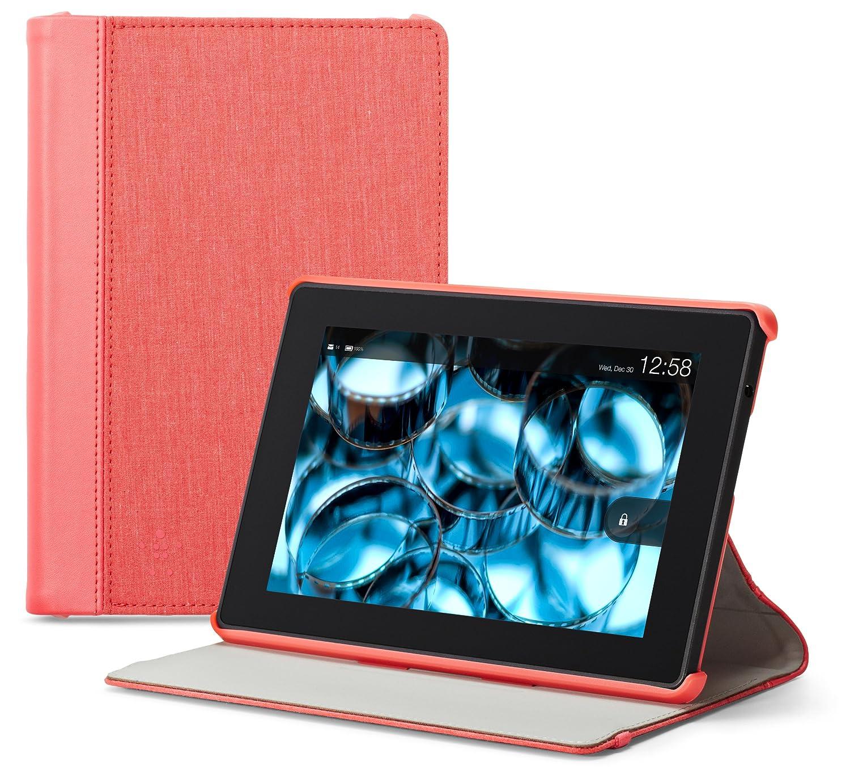 【開店記念セール!】 Belkin ピンク (Kindle Fire HD(第3世代) 専用) 専用) シャンブレー ピンク ケース/カバー with スタンド ピンク ピンク B00DQZQRP8, 片品村:3cadf3d0 --- a0267596.xsph.ru