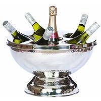 Epicurean Europe - Secchiello del ghiaccio in acciaio inossidabile per vino e champagne
