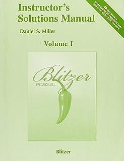 Precalculus: Robert F  Blitzer: 9780131874794: Amazon com: Books