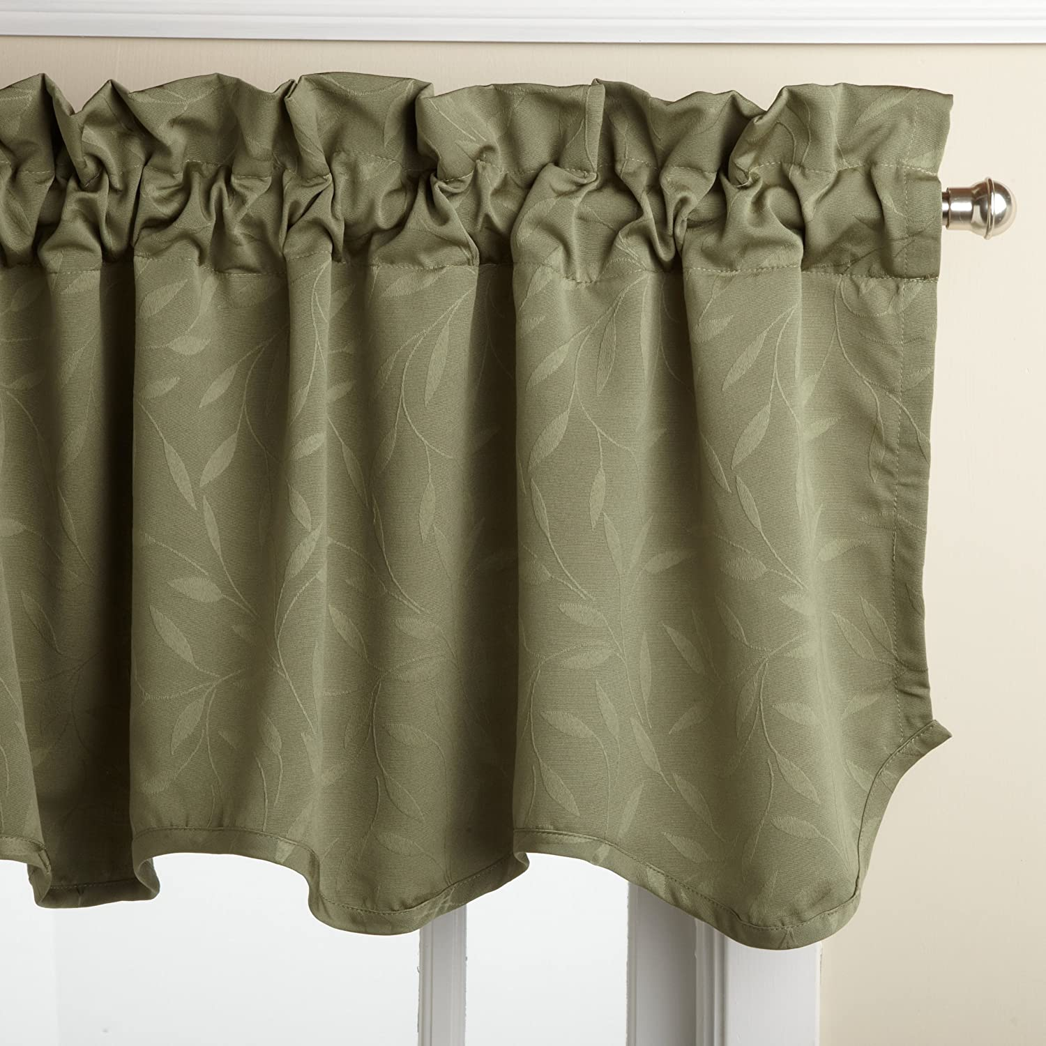 Sage Green Window Valance
