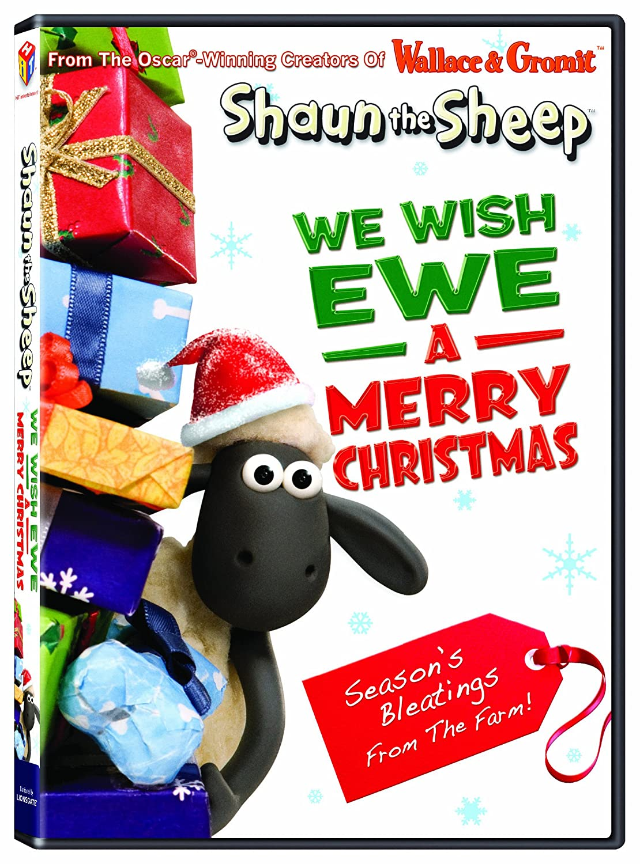 Amazon.com: Shaun the Sheep: We Wish Ewe A Merry Xmas: Shaun the ...