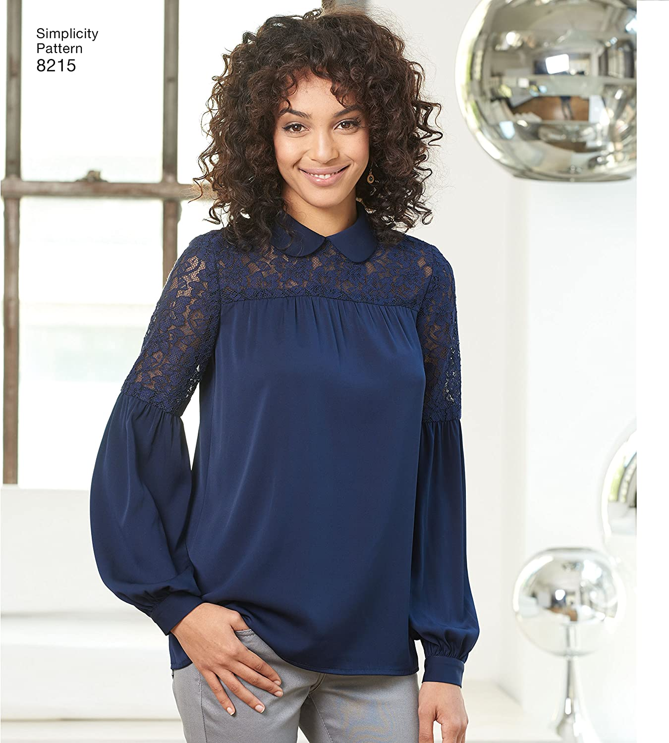 Sizes 4-12 Simplicity 8215 Womens Blouse Sewing Patterns