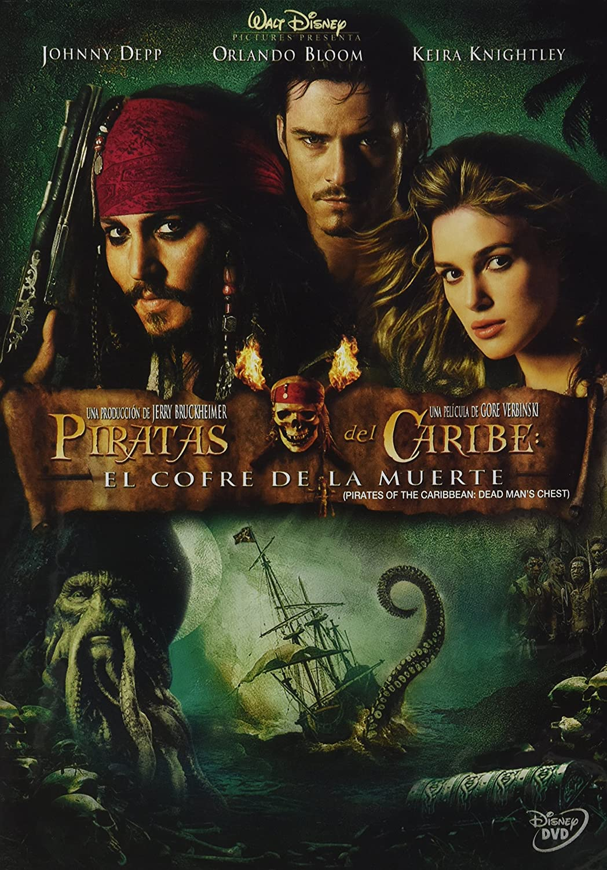 Amazon Com Pelicula Piratas Del Caribe 2 El Cofre De La Mu Movies Tv