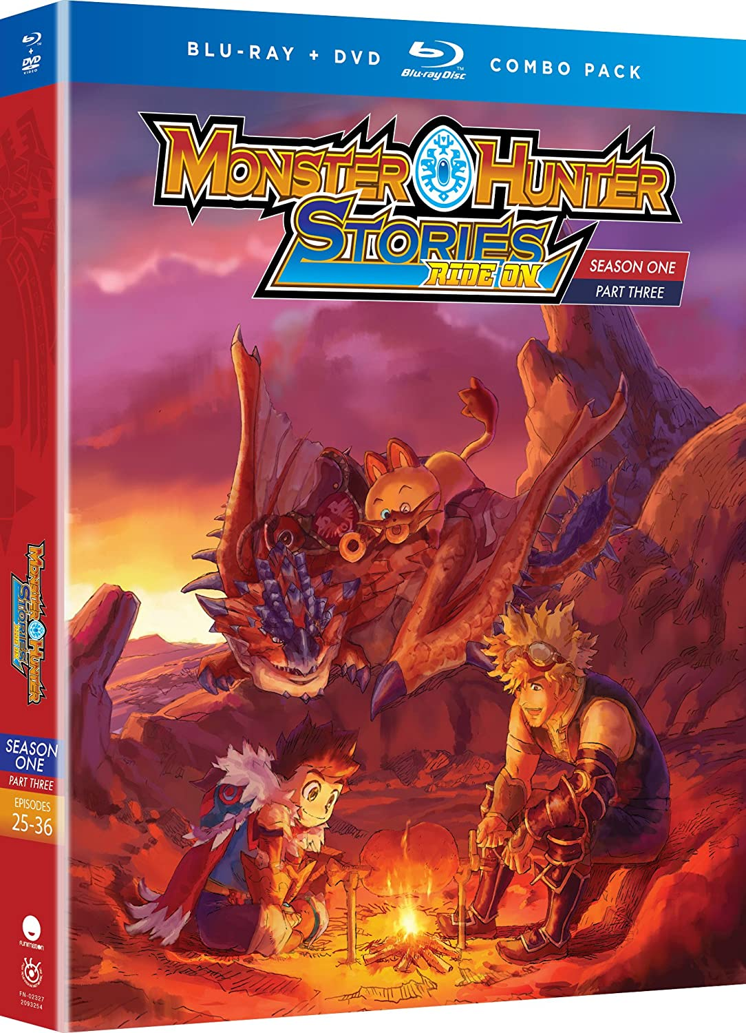 Amazon Com Monster Hunter Stories Ride On Season One Part Three