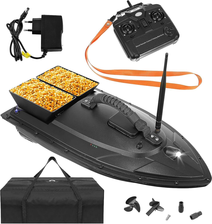ISO TRADE Ferngesteuertes Boot Fischk/öder Boot 1-2 kg Beladung 300-500m Fernbedienung 9775 Gr/ö/ße:1000g