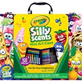Crayola Scented Mini Inspirational Art Case Set, 50 Pieces, Easter Gift for Kids, Ages 6, 7, 8, 9, 10