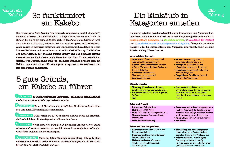 Kakebo Das Haushaltsbuch 9783625180869 Amazon Com Books
