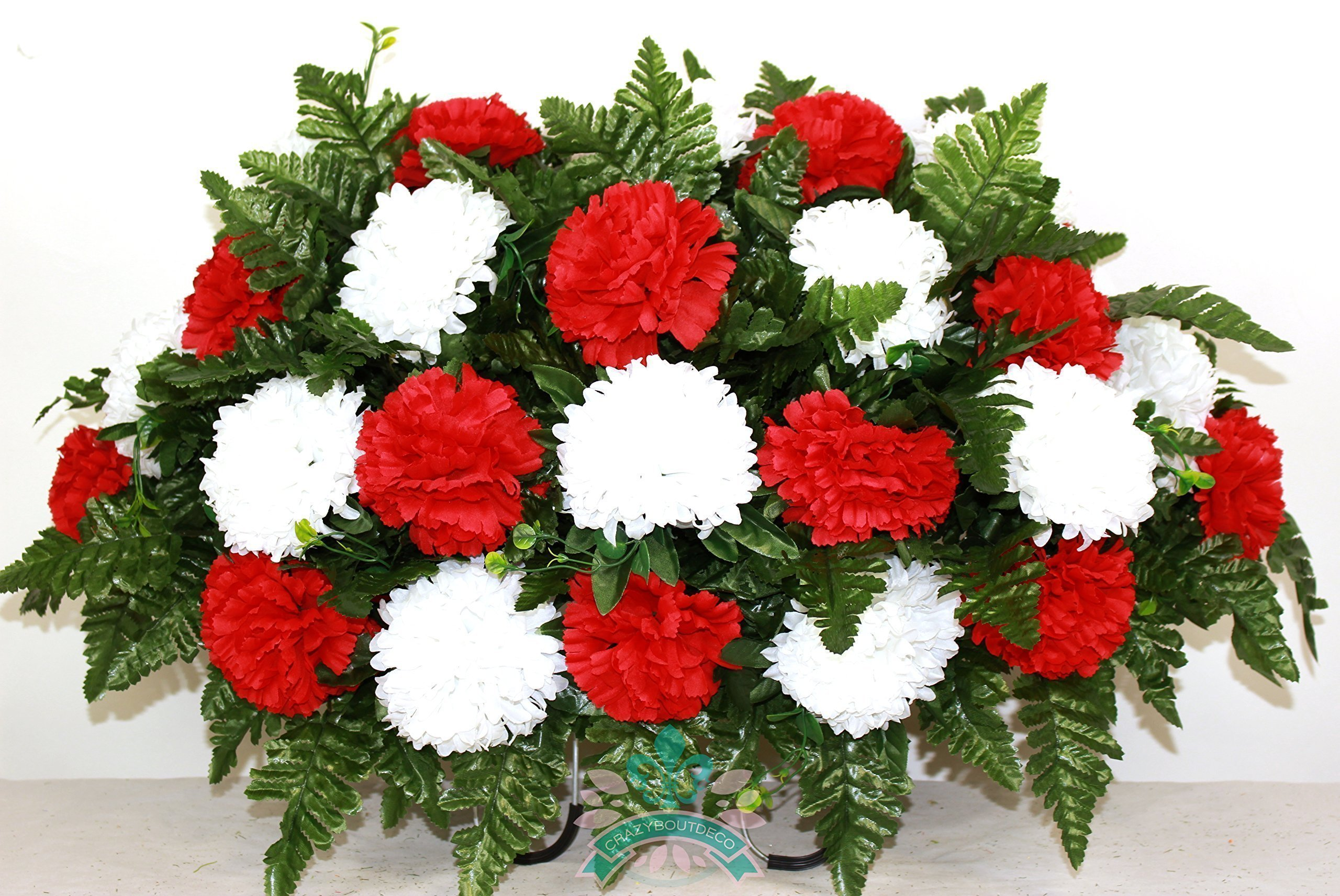 XL-Red-And-White-Cemetery-Saddle-Flower-Arrangement
