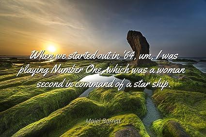 Amazon com: Home Comforts Majel Barrett - Famous Quotes